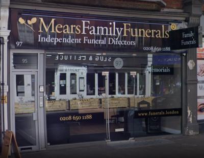 We are Mears Funeral Directors in Beckenham