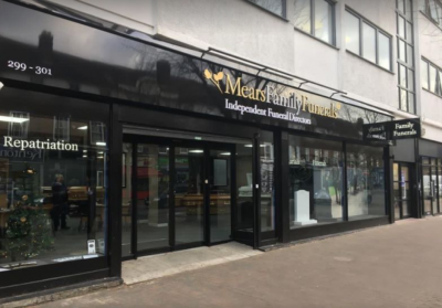 We are Mears Funeral Directors in Orpington