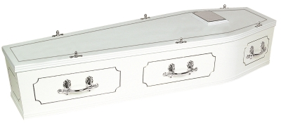 New Oxford White Coffin