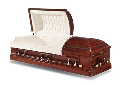 Capital Mahogany Casket