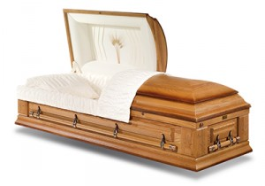 Harvest Oak Casket