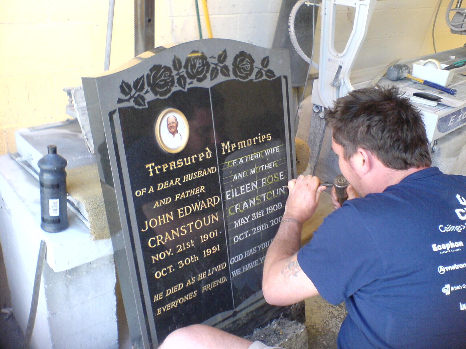step-1-headstone-cement-free-restoration