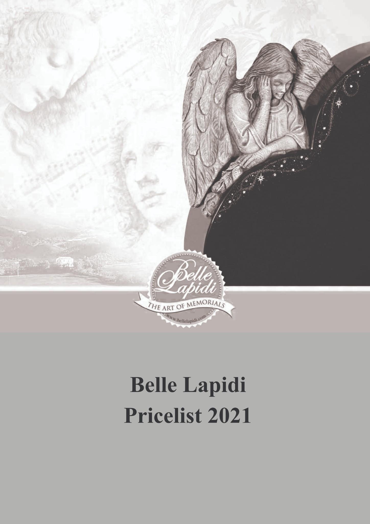 Belle Lapidi Pricelist
