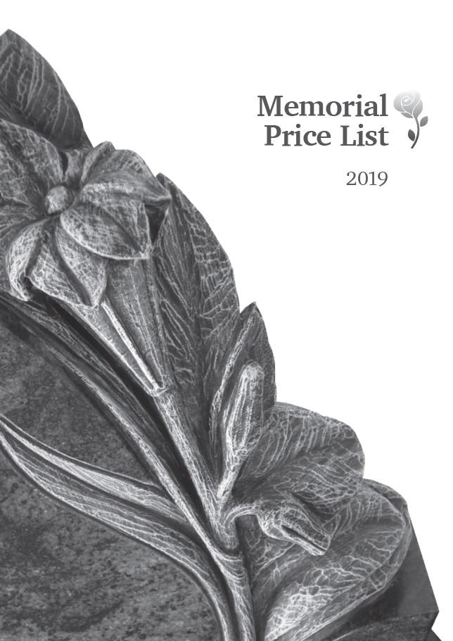 memorials_price_list_2019pdf