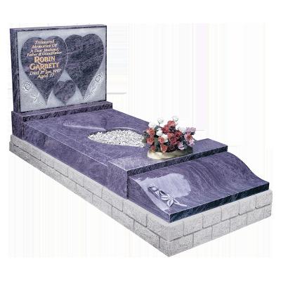 Exclusive Granite Kerb Surround - Carved raised heart