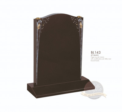 Shaped Chapter-Scroll & Hands Memorial