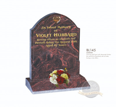Shaped Chapter-Gothic Style Memorial