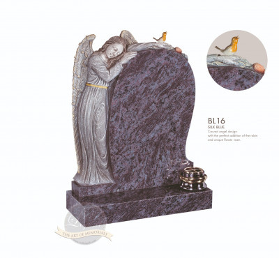 Angel Chapter-Angel Holding Rose Memorial
