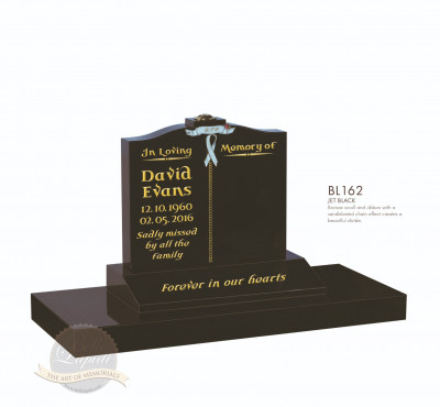 Cremation & Desk Chapter-Scroll & Ribbon Memorial