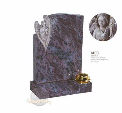 Angel Chapter-Angel Holding Dove Memorial