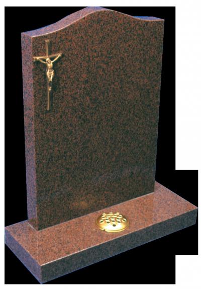 Granite Headstone - Striking coloured memorial