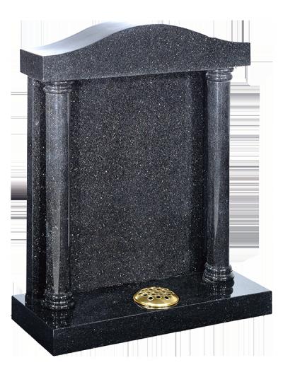 Granite Headstone - Canopy & column design