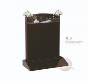 Decorative Chapter-Mountain Scene Memorial