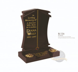 Decorative Chapter-Chain & Heart Memorial