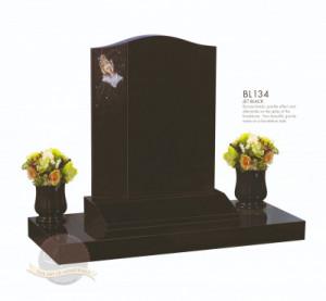 Shaped Chapter-Bronze Hands Spun Vase Memorial