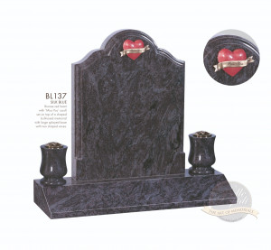 Shaped Chapter-Round Top Ogee Shouldered Memorial