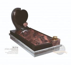 Kerb Set Chapter-Double Heart Full Kerb Memorial