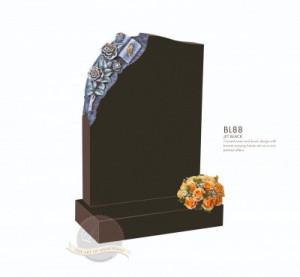 Floral Chapter-Carved Rose & Book Memorial