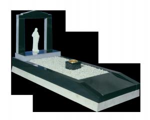 Granite Surround - Statuette & centre vase