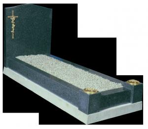 Granite Surround - Includes bronze type cross