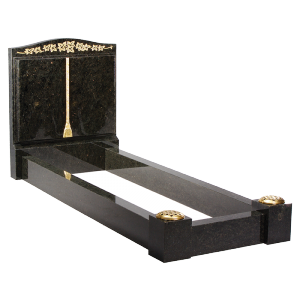 Granite Surround - Shaped & carved book to face