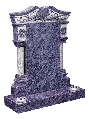 Granite Headstone - Superbly crafted memorial