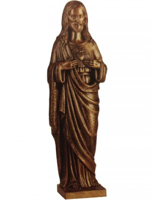 Sacred Heart – bronze effect