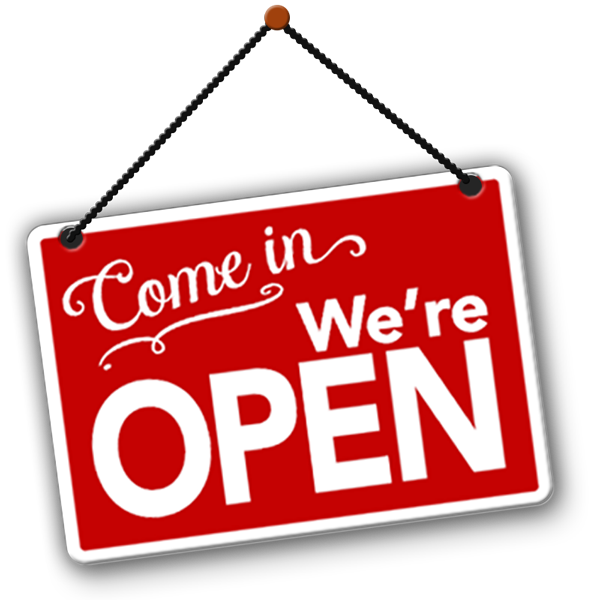 All our branches are now open!