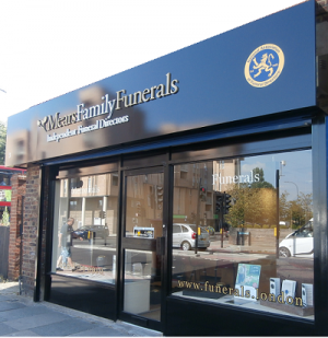 We are Mears Family Funeral Directors in Catford & Sydenham