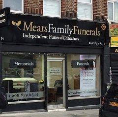 We are Mears Family Funeral Directors In Eltham