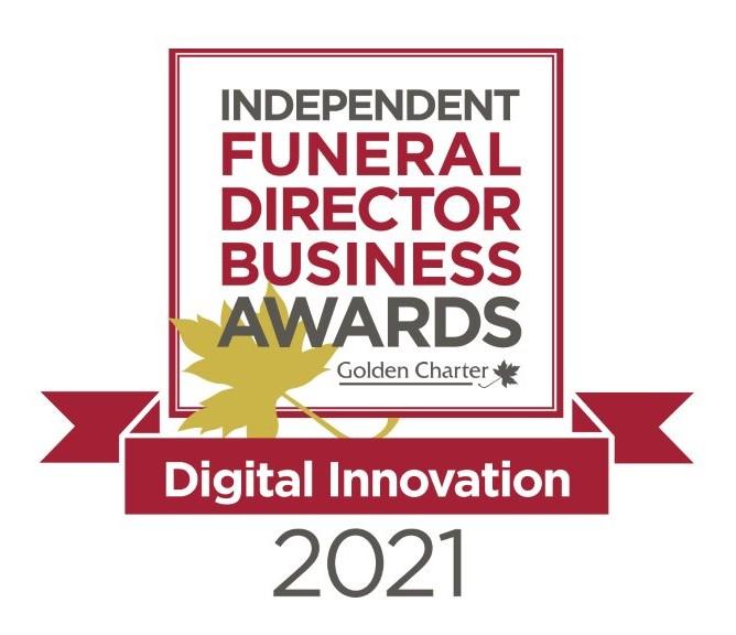 Mears Family Funerals wins Digital Innovation 2021 Award