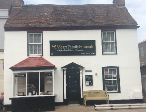 We are Mears Family Funeral Directors in West Wickham